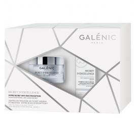 Galenic Set Secret dExcellence La Creme 50ml + Secret dExcellence Serum Concent Αντιγηραντικός Ορός προσώπου 10ml