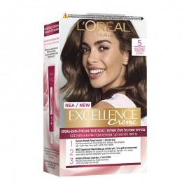 LOreal Excellence Creme 5 Καστανό Ανοιχτό 48ml