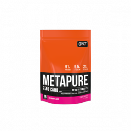 QNT Metapure Zero Carb Whey Isolate Protein Powder Red Candy 480gr