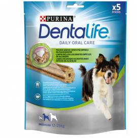 Purina Dentalife Oral Care Για Σκύλους Μεσαίου Μεγέθους (12-25 Kg) 5 Sticks 115gr