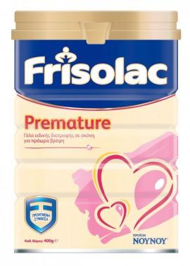 ΝΟΥΝΟΥ Frisolac Premature Γάλα Ειδικής Διατροφής σε Σκόνη για Πρόωρα Βρέφη 400gr