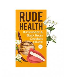 Am Health Rude Health Κράκερ με Φαγόπυρο κ Μαύρα Φασόλια 120gr