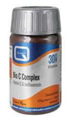 QUEST BIO C COMPLEX bioflavonoids 500mg 30TABS