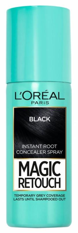 LOreal Paris Magic Retouch Instant Root Concealer Spray 1 Black 75ml