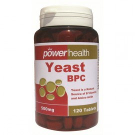 POWER HEALTH  YEAST 500MG 120TAB