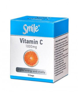 AM HEALTH SMILE VITAMIN C 1000mg 15sachets