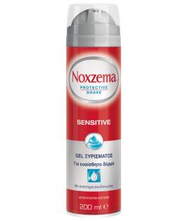 Noxzema Sensitive Gel Ξυρίσματος για Ευαίσθητες Επιδερμίδες 200ml