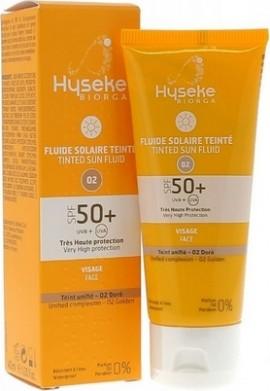 Biorga Hyseke Tinted Sun Fluid Golden SPF50+ 40 ml