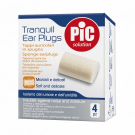 Pic Solution Tranquil Ear Plugs Ωτοασπίδες Σπόγγου 4τμχ