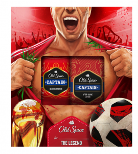Old Spice Set Captain Deodorant Stick 50ml + Old Spice Captain After Shave Lotion 100ml