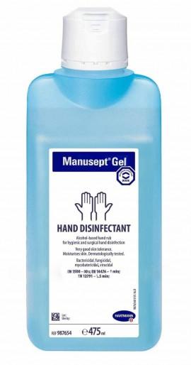 Manusept Αντισηπτικό gel Χεριών Χωρίς Αντλία 475ml