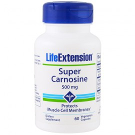 Life Extension Super Carnosine 500mg 60 Veg.Caps.