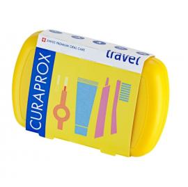 Curaprox Travel Set Πακέτο Στοματικής Υγιεινής Ταξιδίου 1τμχ