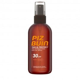 Piz Buin Tan & Protect Sun Oil Spray SPF30 Αντηλιακό Λάδι Υψηλής Προστασίας 150ml