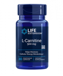 Life Extension L-carnitine 500mg 30caps