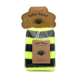 Vican Balmy Naturel Polyester Sponge Σφουγγάρι Μπάνιου Πράσινο-Μαύρο 1τμχ