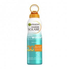 Garnier Ambre Solaire UV Water Mist SPF30 για προστασία με ανάλαφρη υφή 200ml