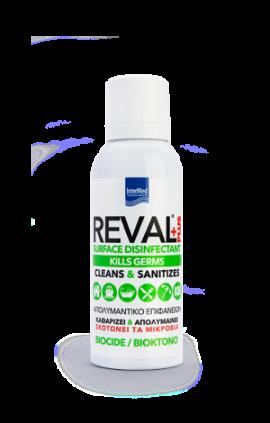 Intermed Reval Plus Spray Surface Disinfectant  Απολυμαντικό Επιφανειών 100ml