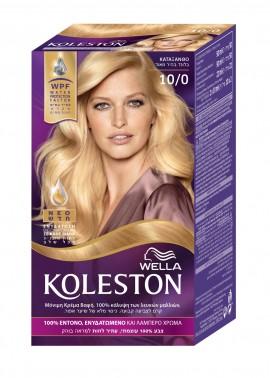 Wella Koleston Ultra Light Blonde Βαφή Μαλλιών Νο 10/0 Ιβουάρ, 50ml