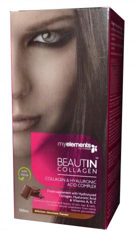 My Elements Beautin Collagen, με γεύση Σοκολάτα με στέβια, 500ml