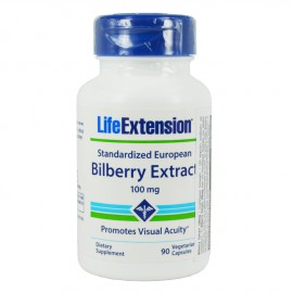 Life Extension Standardized European Bilberry Extract 100mg 90caps