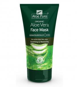 Optima Organic Aloe Vera Face Mask 150ml