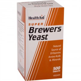HEALTH AID SUPER BREWERS YEAST TABLETS 500S