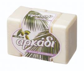 Αρκάδι Φυσικό Σαπούνι Σε Πλάκες Λευκό 4Χ150gr
