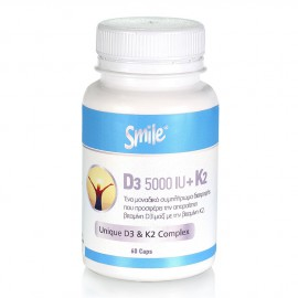 Am Health Smile D3 5000 IU + K2 60caps