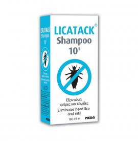 Licatack Shampoo 10 Aντιφθειρικό Σαμπουάν 100ml