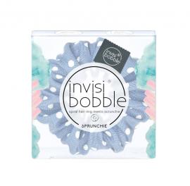 Invisibobble Sprunchie Dots It Light Blue 1τμχ