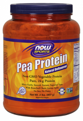 Now Foods Pea Protein Natural Unflavored 2 Lbs 907gr