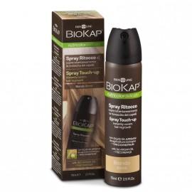 BioKap Nutricolor Spray Touch-Up Εκνέφωμα για την Κάλυψη της Ρίζας Ξανθό 75ml