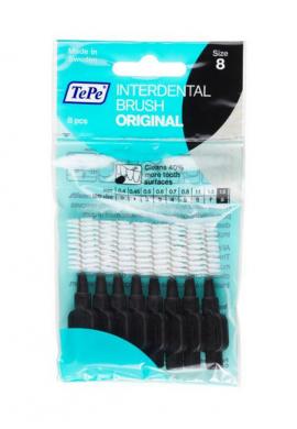 Tepe Interdental Brush Original Μαύρο 1.5mm 8τμχ