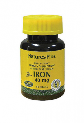 Natures Plus IRON 40 MG 90TABS