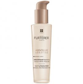 Rene Furterer Absolue Keratine Repairing Beauty Cream Damaged Over-Processed Hair 100ml