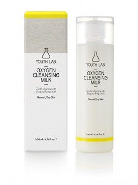Youth Lab Oxygen Cleansing Milk for Normal - Dry Skin 200ml