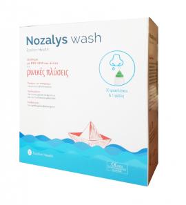 Epsilon Health Nozalys Wash 30sachets & 1 Bottle