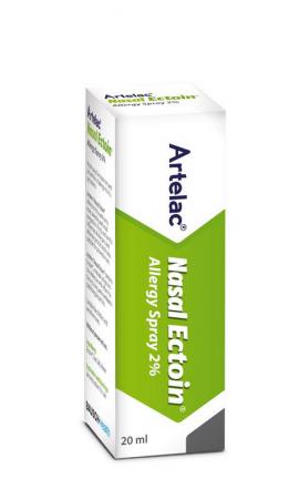 Bausch & Lomb Artelac Nasal Ectoin Allergy Spray 2% 20ml
