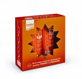 INTERMED Luxurious Pack Αντηλιακή Προσώπου SPF50 75ml & Αντηλιακή Σώματος SPF15 200ml