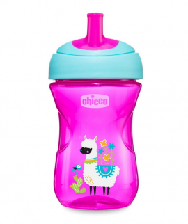 Chicco Advanced Cup Easy Drinking 12m+ Ρόζ 266ml