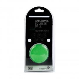 Anatomicline Μπαλάκι Εξάσκησης Χειρός Πράσινο Anatomic Squeeze Ball 6104/ Medium
