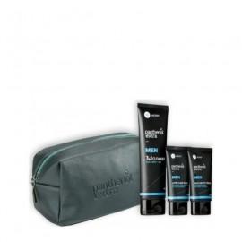 Medisei Panthenol Extra Set Γκρί Men After Shave Balm 75ml + Face & Eye Cream Ανδρική Αντιρυτιδική Κρέμα Προσώπου & Ματιών 75ml + Δώρο 3in1 Cleanser Ανδρικό Αφρόλουτρο-Σαμπουάν 200ml