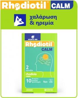 Holistic Med Rhodiotil Calm 30 veg.caps