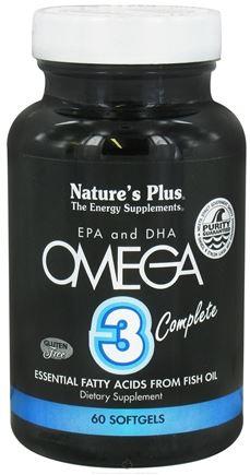 NATURES PLUS Omega 3 Complete 60softgels