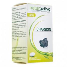 NATURACTIVE Ενεργός Φυτικός Άνθρακας 140mg 28caps
