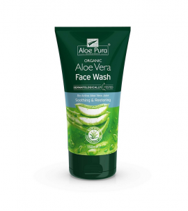 Optima Organic Aloe Vera Face Wash 150ml