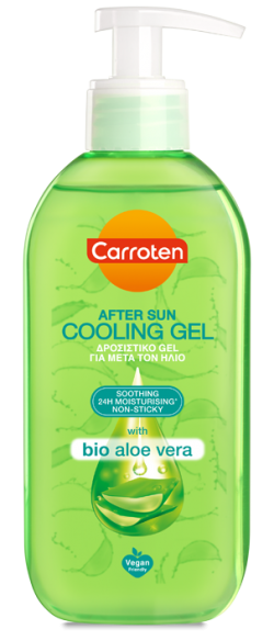 Carroten After Sun Cooling Gel Bio Aloe Vera 200ml