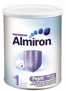 Almiron Nutricia 1 pepti allergy care 450g από 0-6 μηνών