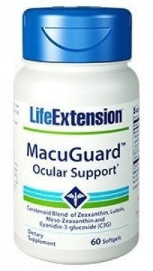 Life Extension MacuGuar  Ocular Support 60caps